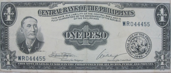 Old Philippine Peso Notes