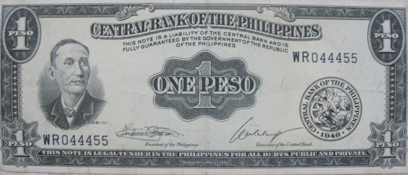 old philippine peso bills | Vos lego